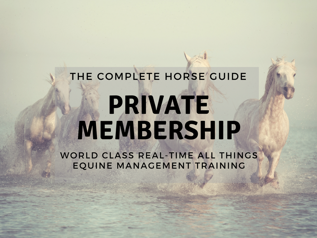 The Complete Horse membership