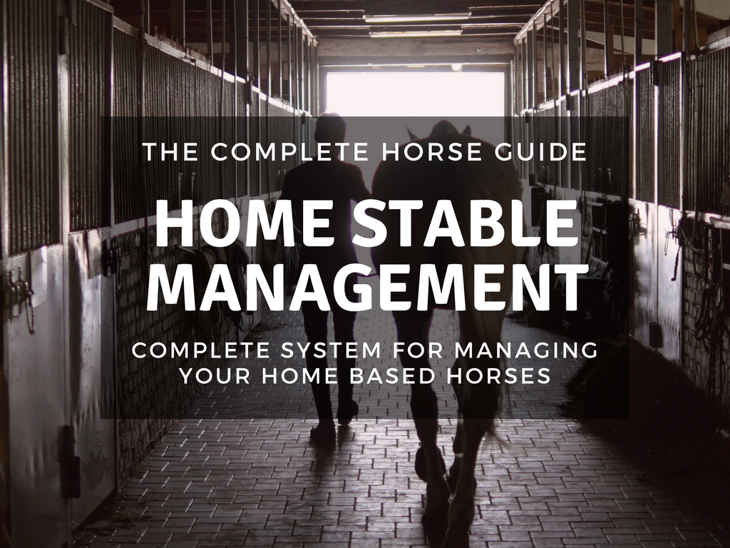 The Complete Horse Guide to Stable Management