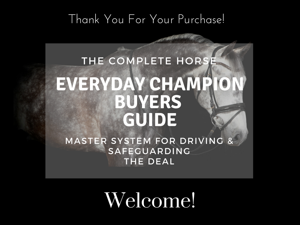 TCH Champion Buyers Guide Thank You