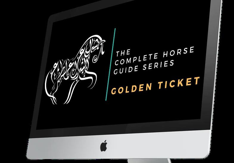 Leslie Goodyear Golden Ticket Mockup